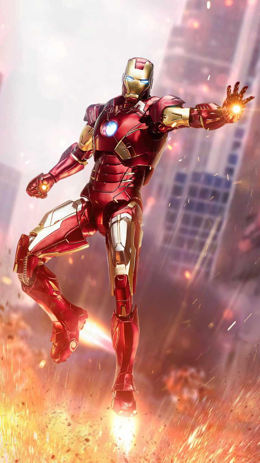 Iron Man no more mercy