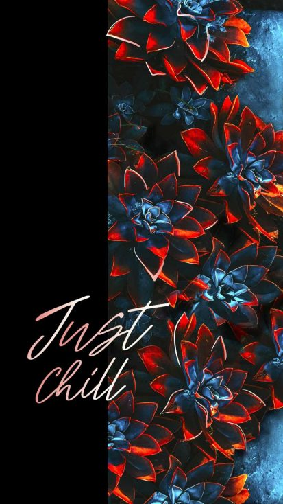 Just Chill iPhone Wallpaper