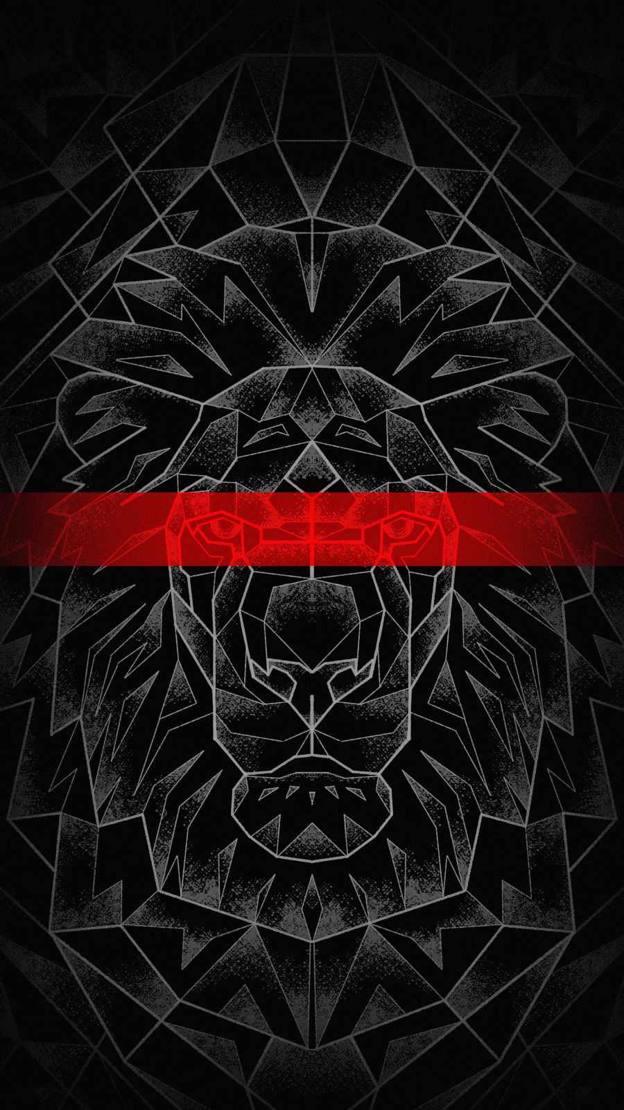 King Lion Dark Art