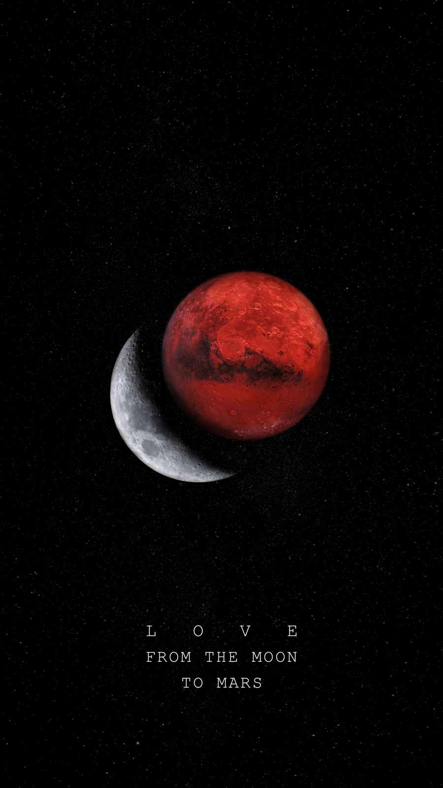 LOVE from the Moon to Mars
