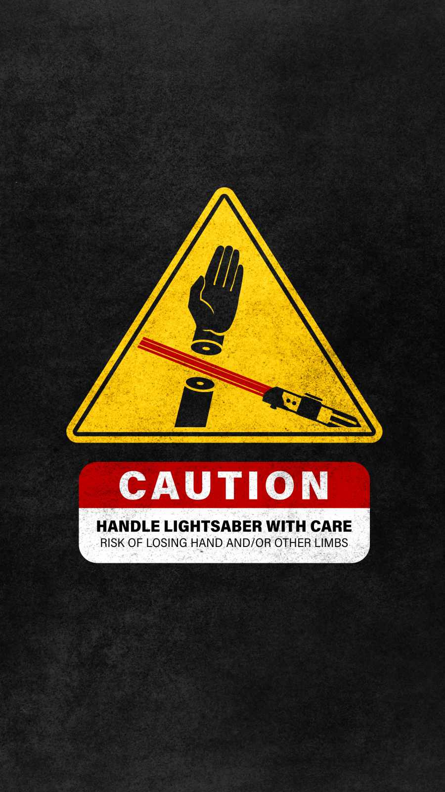 Lightsaber Caution