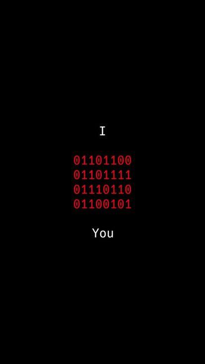 Love Binary Code