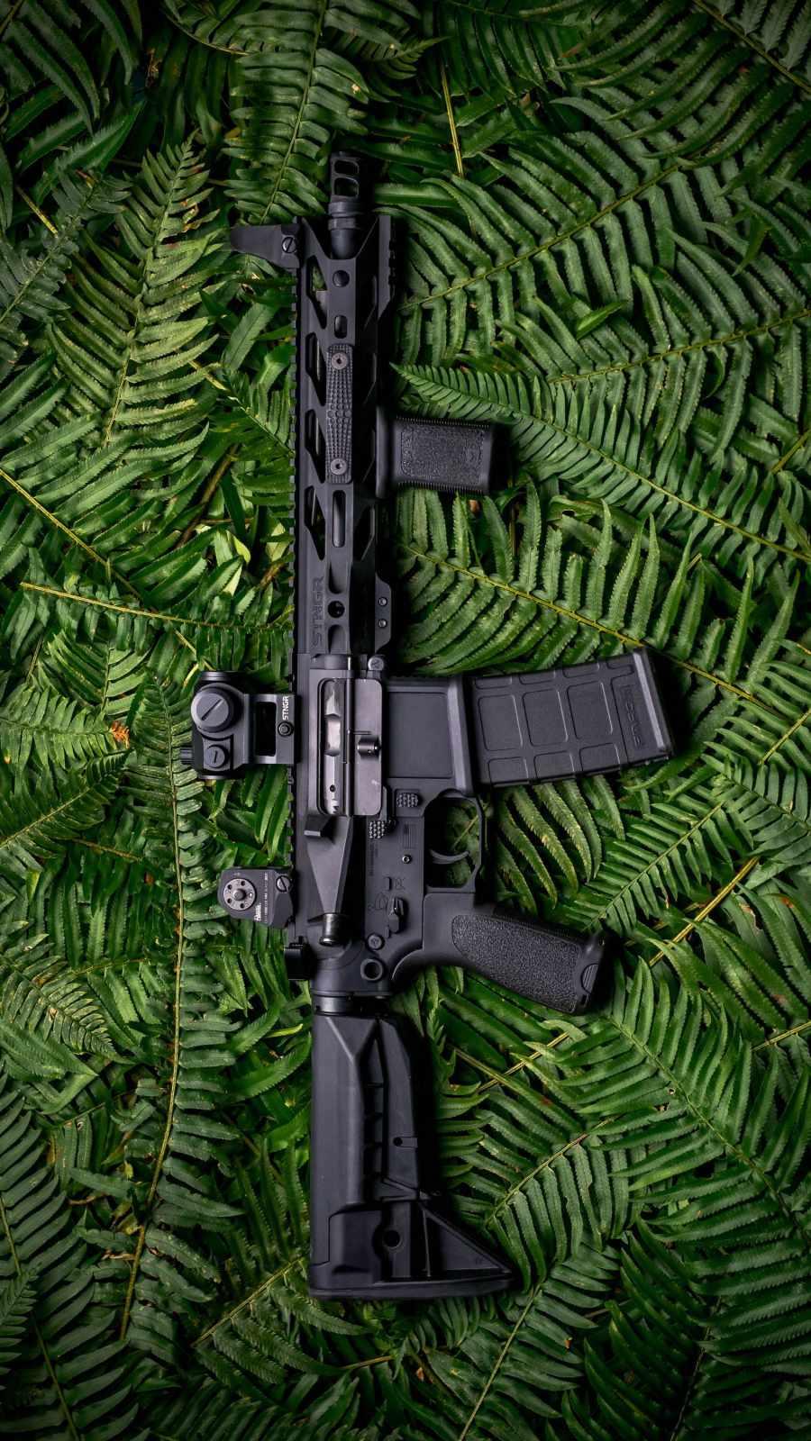 M4 16 Gun iPhone Wallpaper