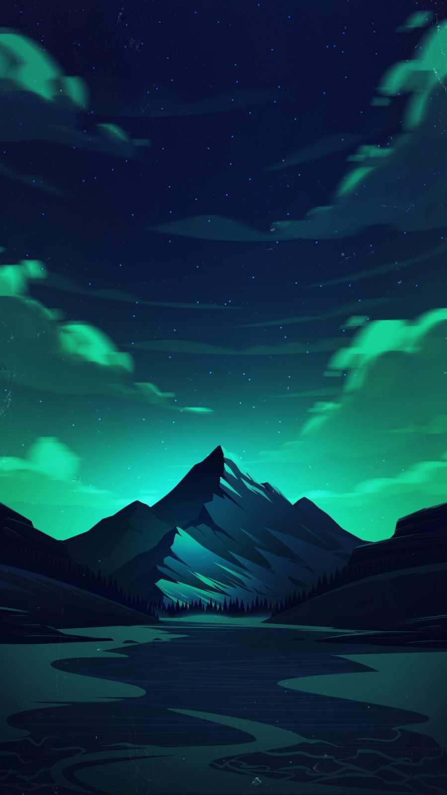 Minimal Landscape Nature Mountain