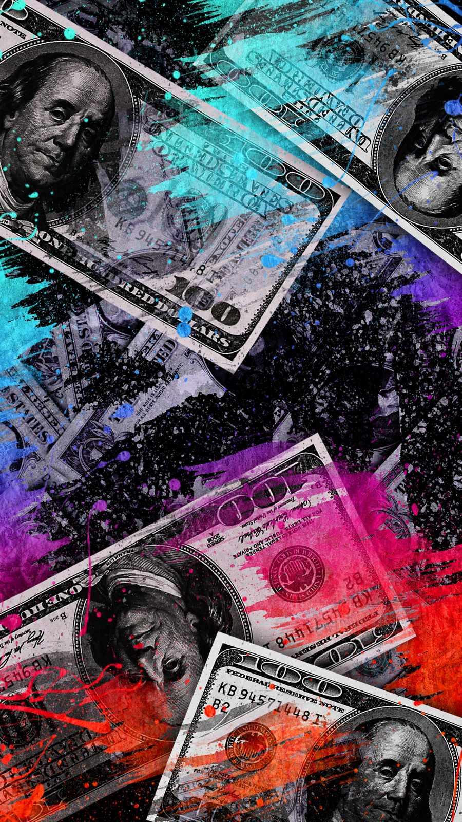 Money Bills Art
