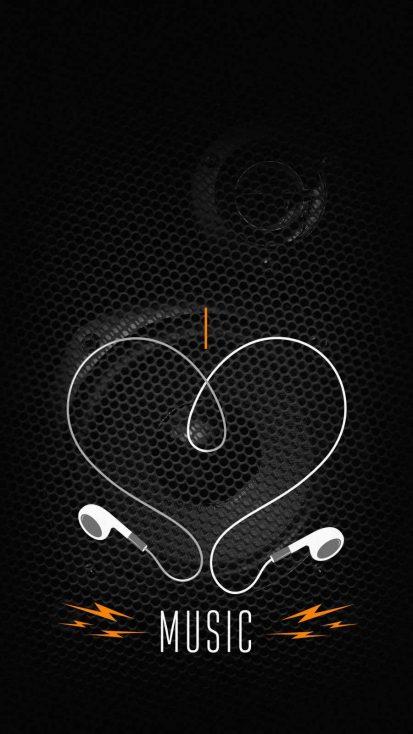 Music Love iPhone Wallpaper