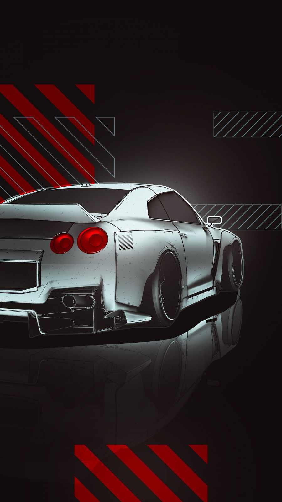 Nissan GTR Art