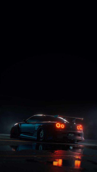 Nissan Skyline iPhone Wallpaper