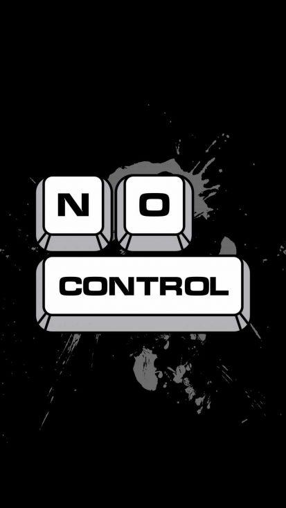 No Control iPhone Wallpaper