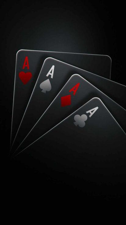 Poker Cards Dark