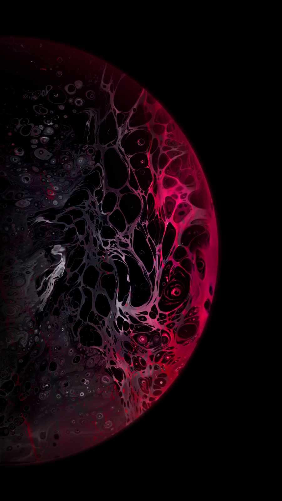 Red Dark Planet