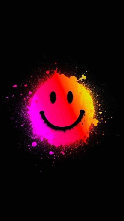 Smiling iPhone Wallpaper