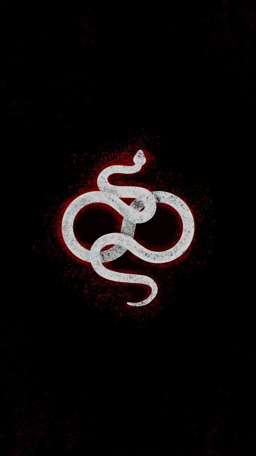 Snake Art iPhone Wallpaper