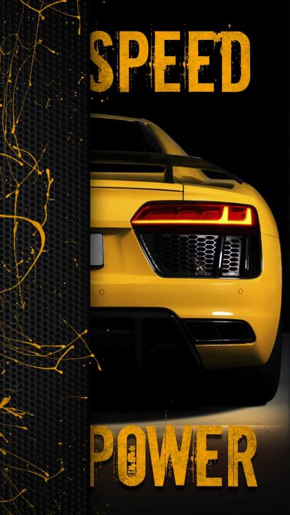 Speed Power iPhone Wallpaper