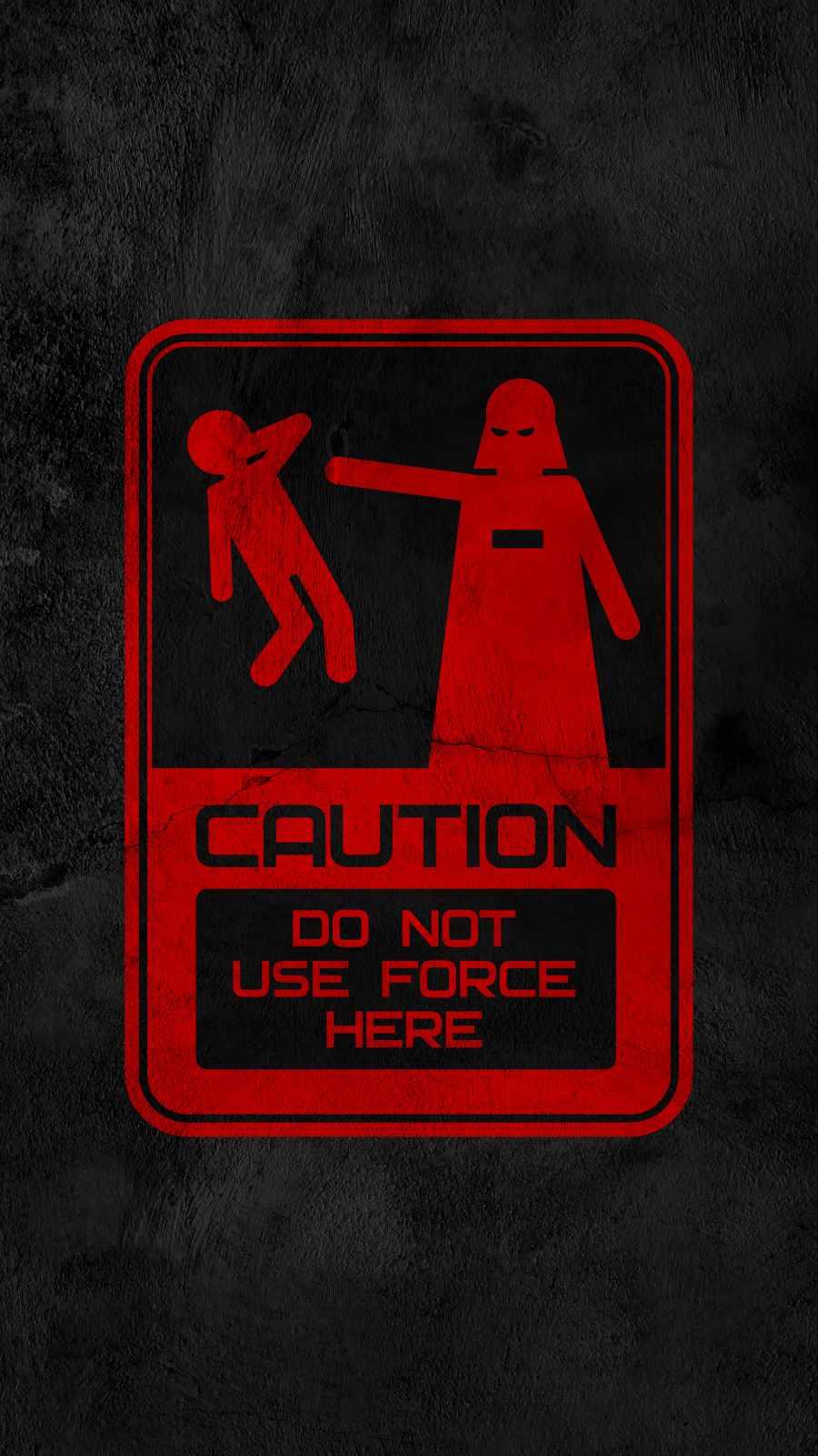 Star Wars Caution