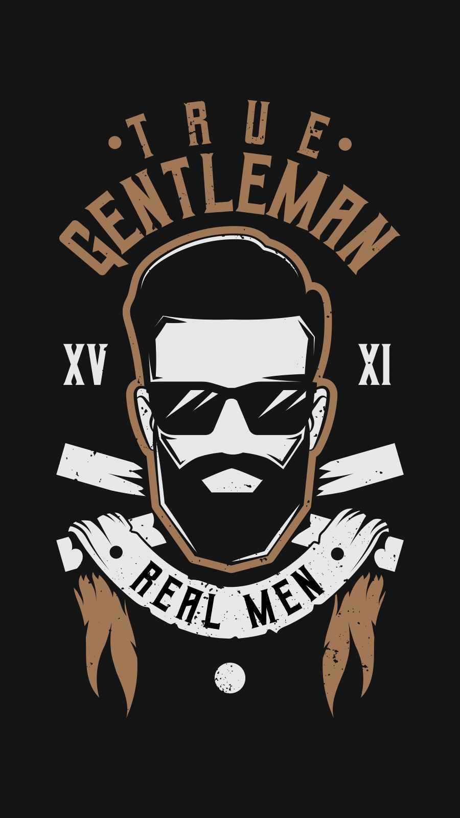 True Gentlemen iPhone Wallpaper