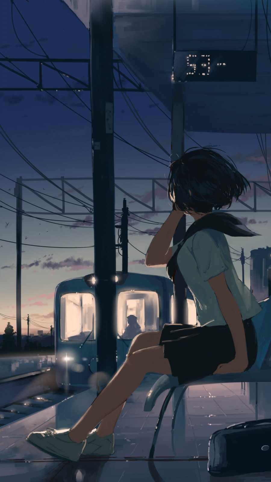 Waiting For Train