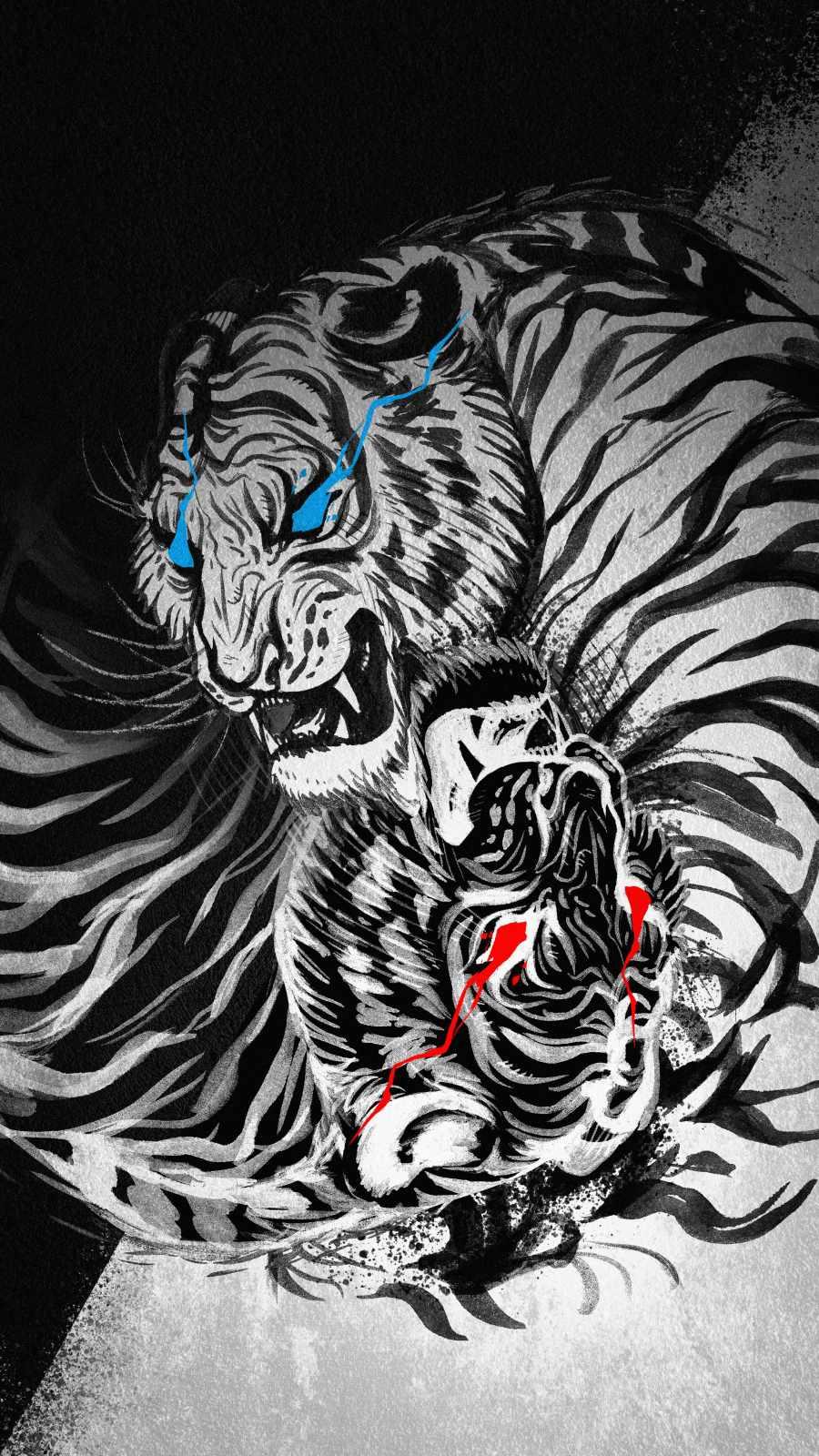 White Tiger Art