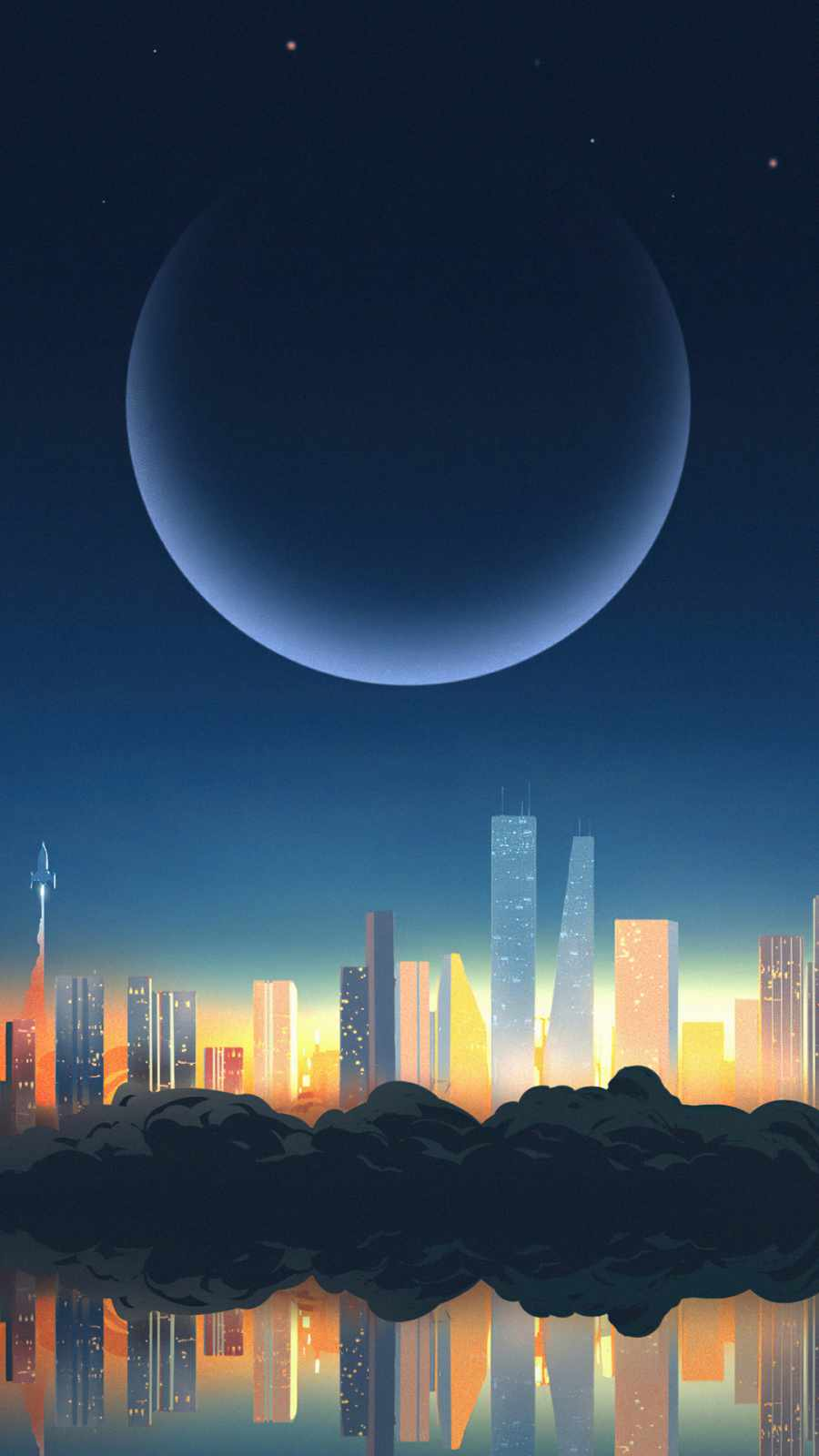 the night cloud city
