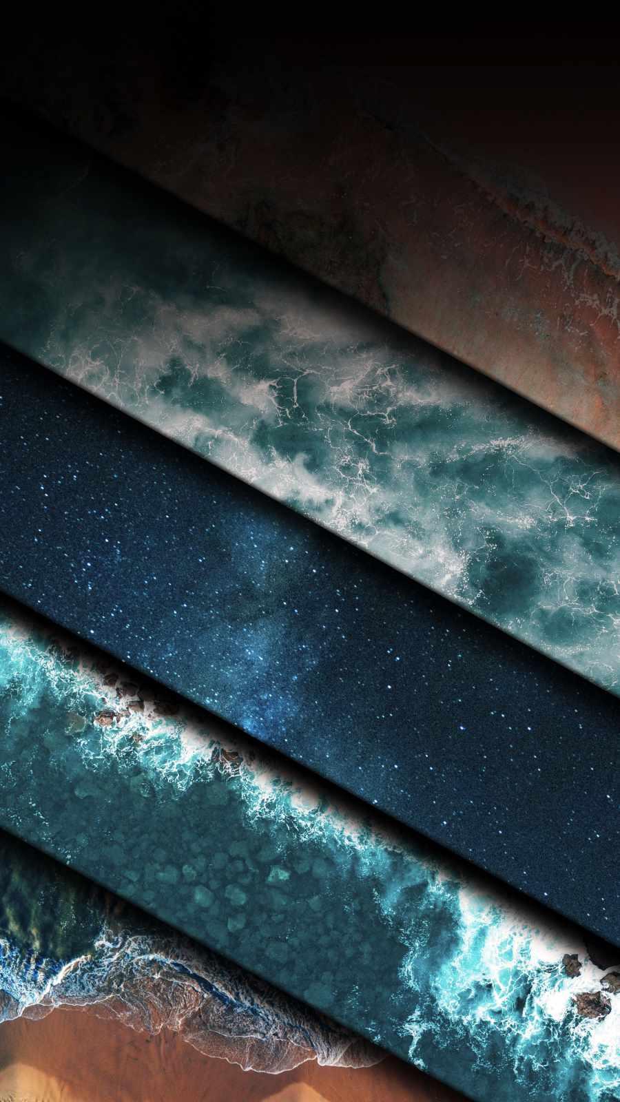 3D Ocean iPhone Wallpaper