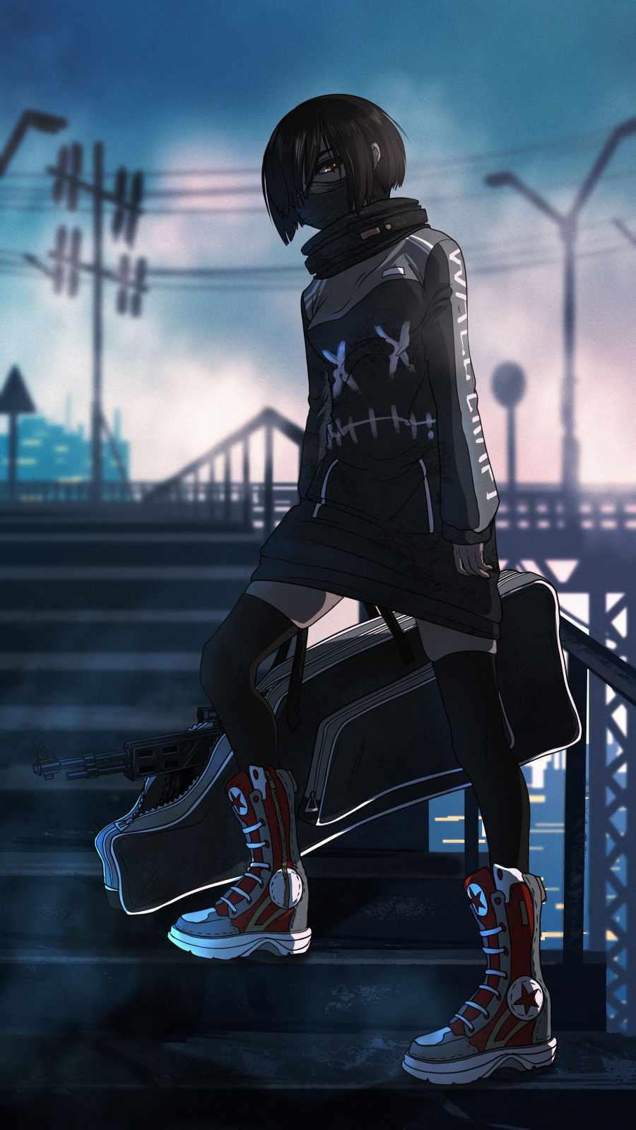 Anime Sniper Girl