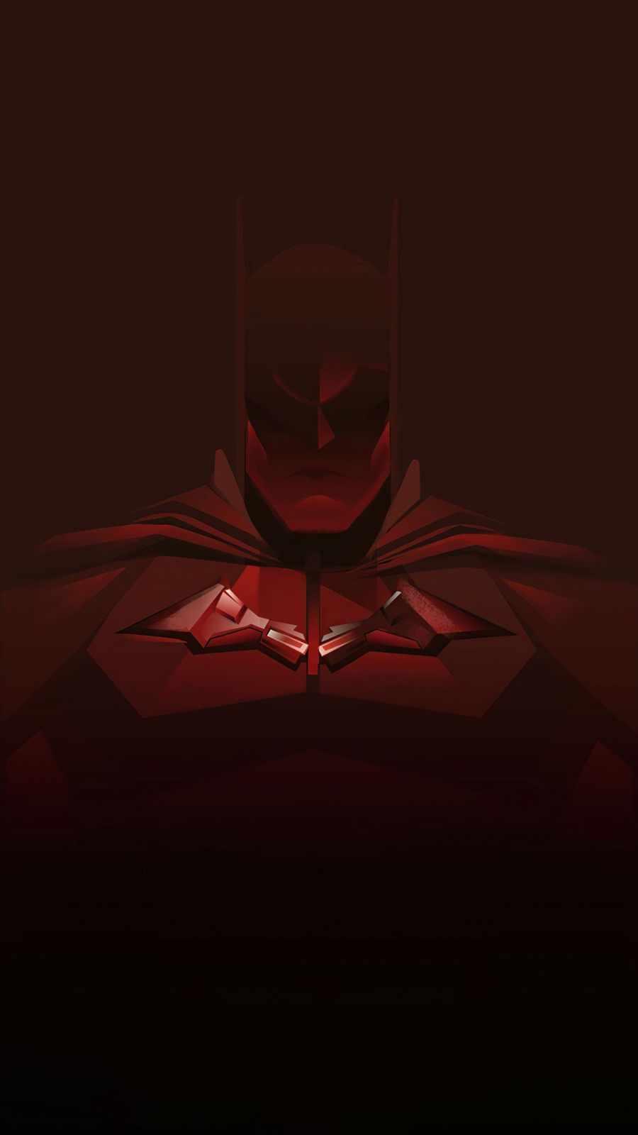 Batman red minimal