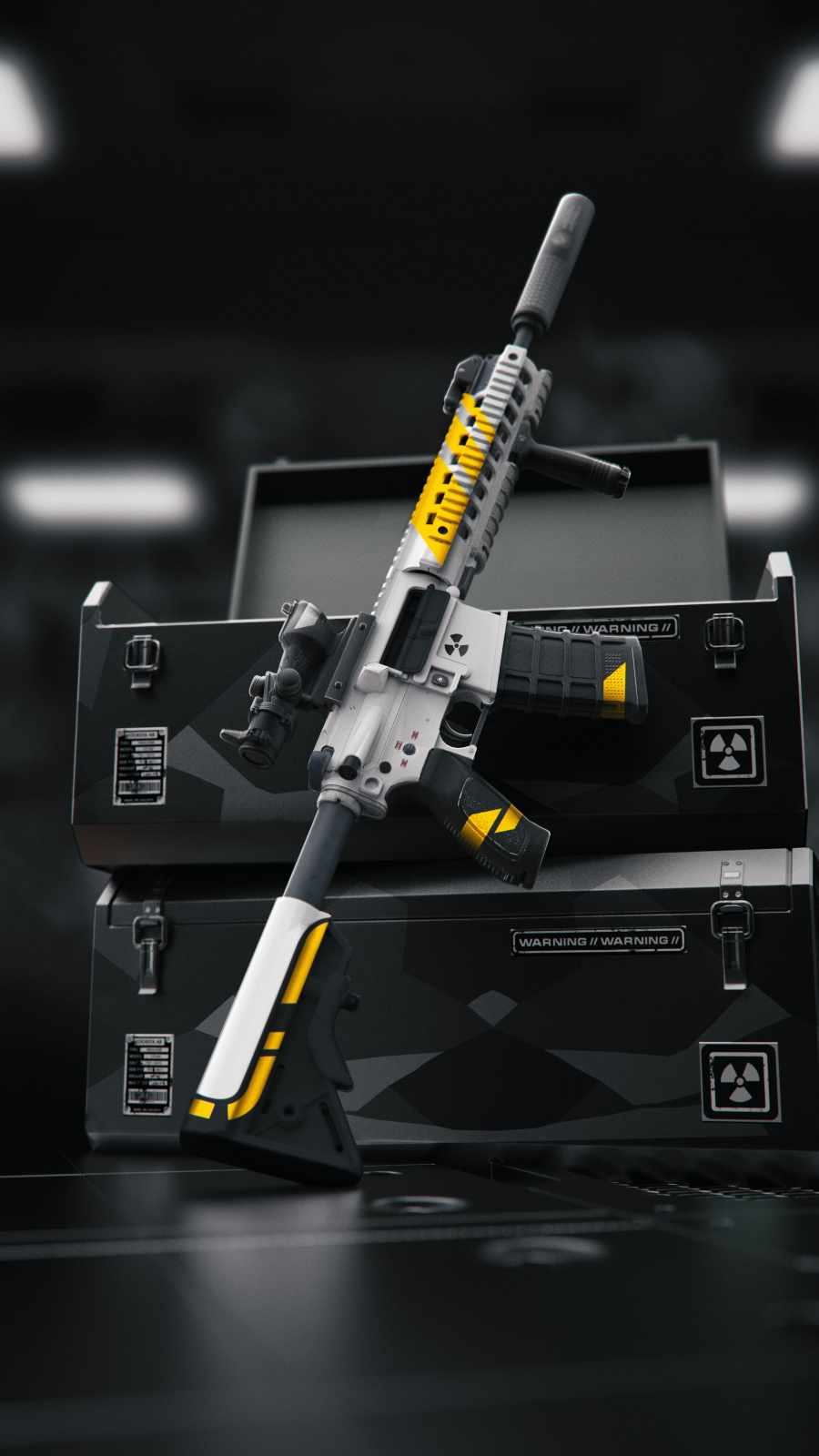 Black Ops Gun iPhone Wallpaper