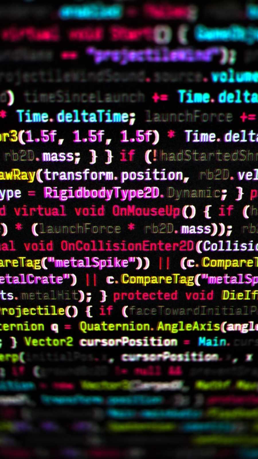 Code Screen iPhone Wallpaper