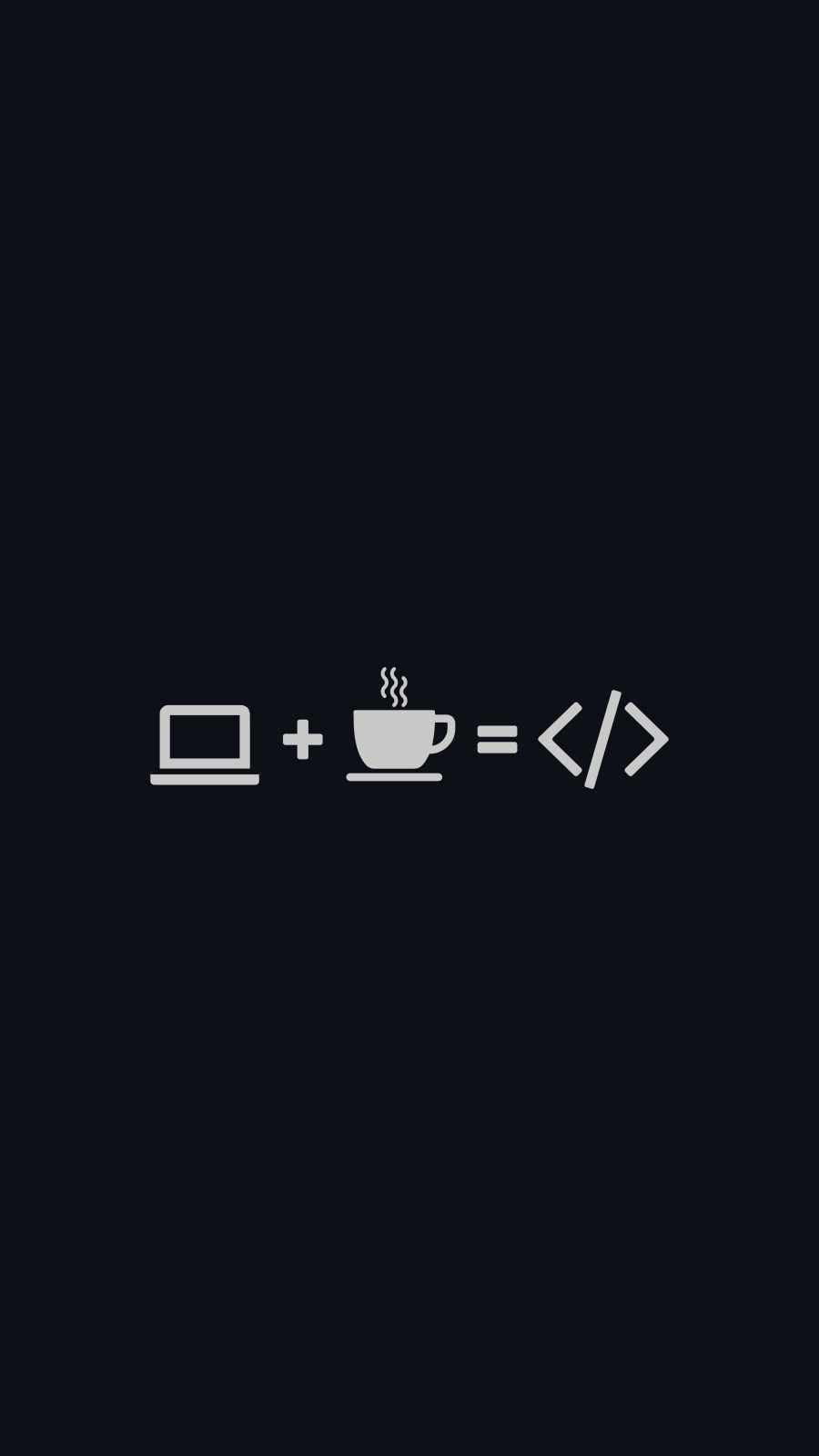 Coder Life iPhone Wallpaper