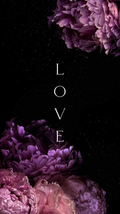 Deep Love iPhone Wallpaper
