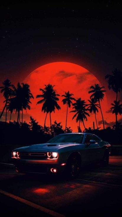 Dodge Challenger Sunset