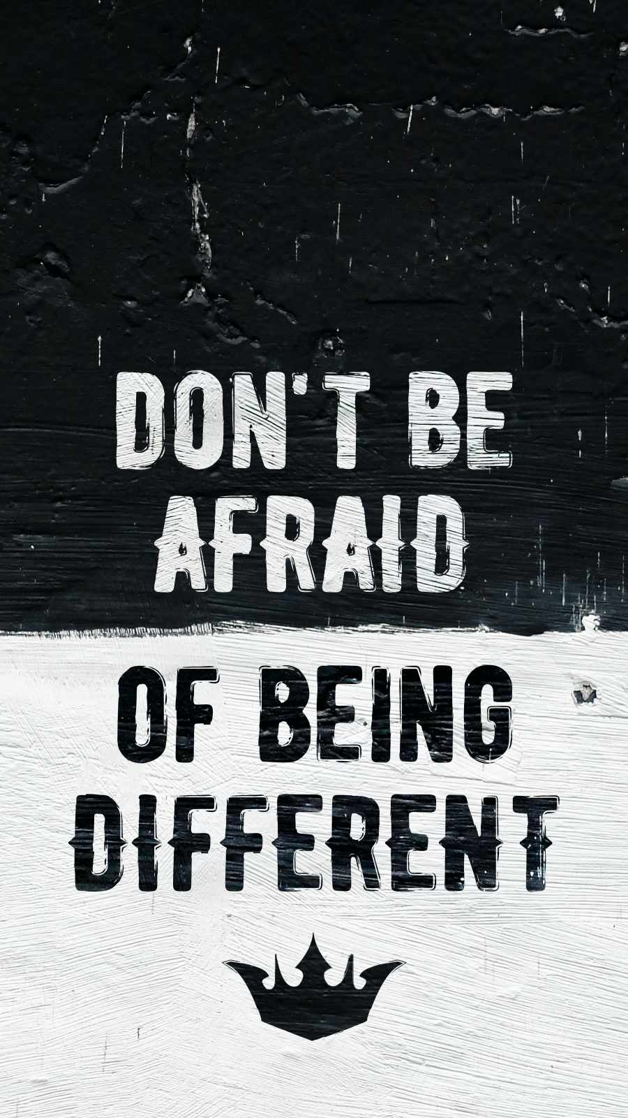 Dont Be Afraid of Being Different
