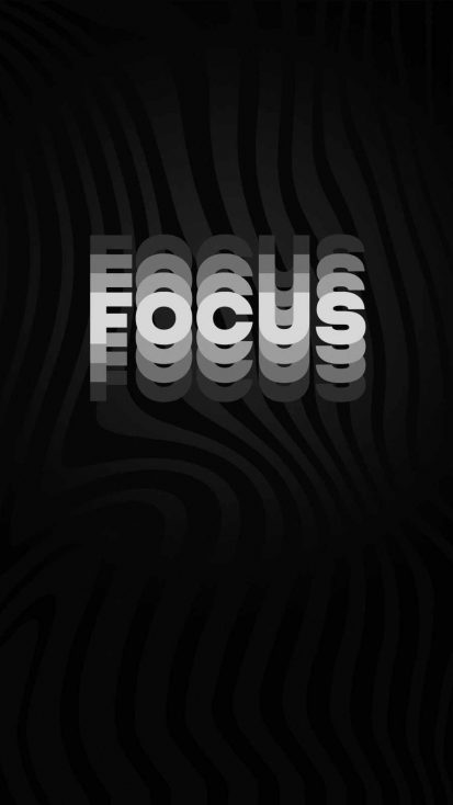 Focus iPhone Wallpaper