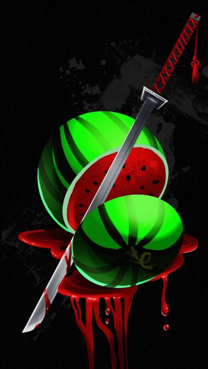 Fruit Ninja iPhone Wallpaper