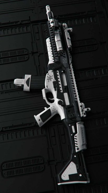 Future Weapon iPhone Wallpaper