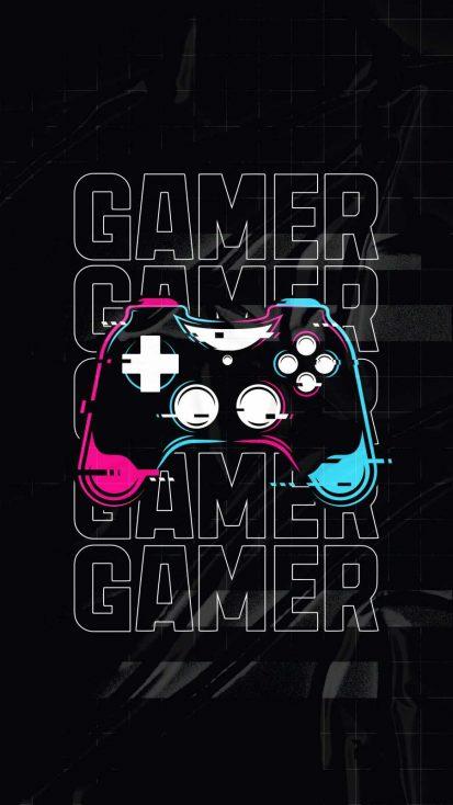Gamer Art iPhone Wallpaper