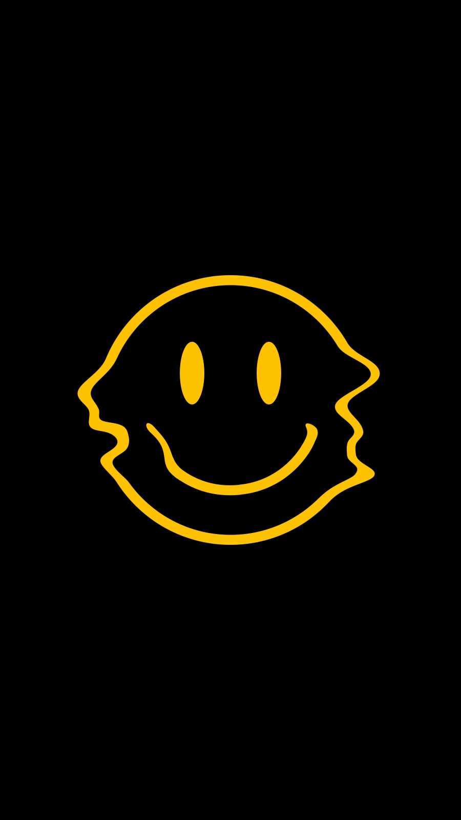 Happy Smile iPhone Wallpaper