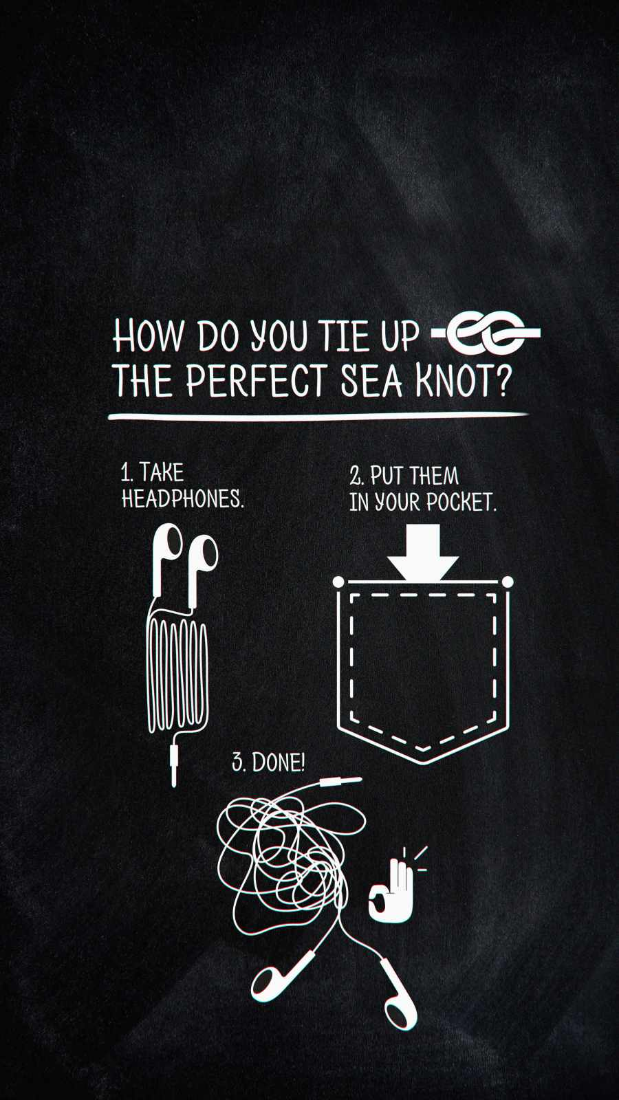 How to Knot iPhone Wallpaper