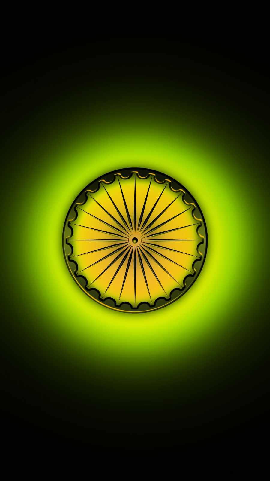 Indian flag wheel