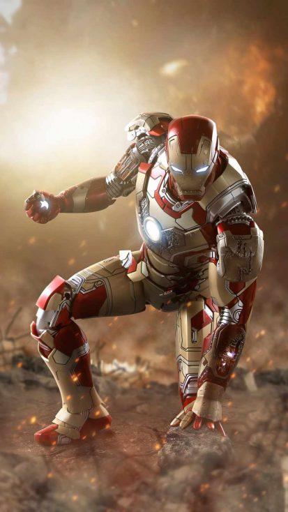 Iron Man Mark 42 Action