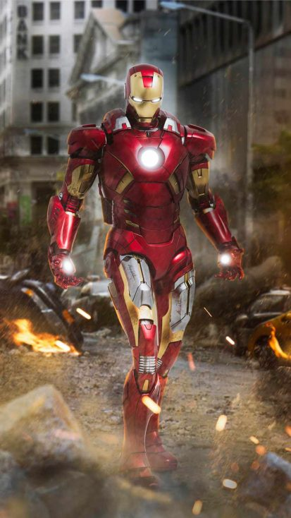 Iron Man Suit New York