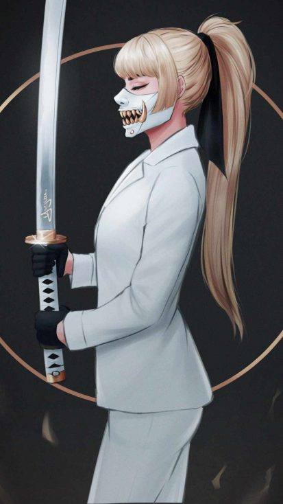 Katana Sword Girl
