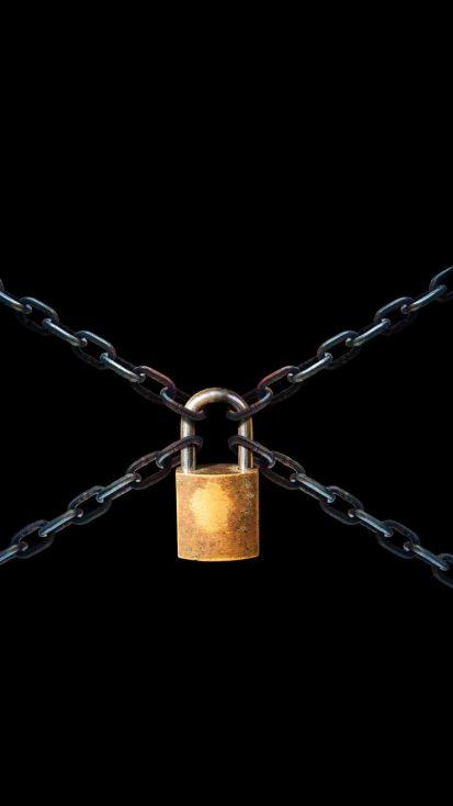 Locked Screen iPhone Wallpaper