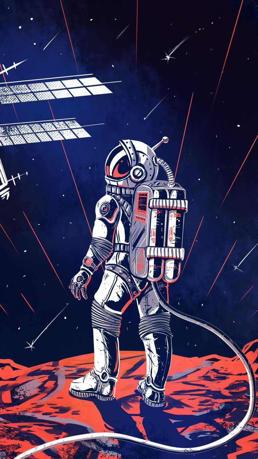 Mission Mars Astronaut