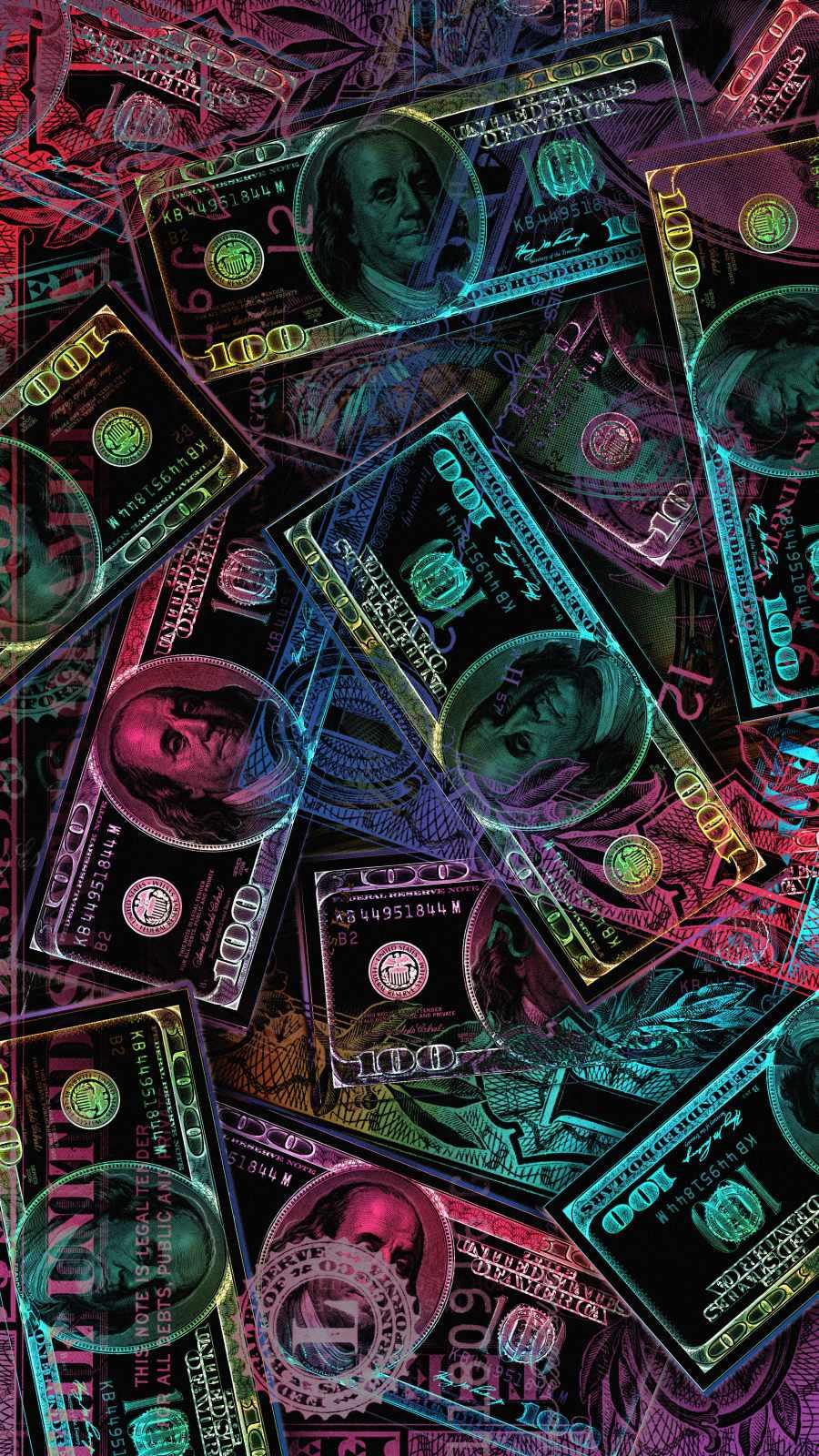 Money Money iPhone Wallpaper