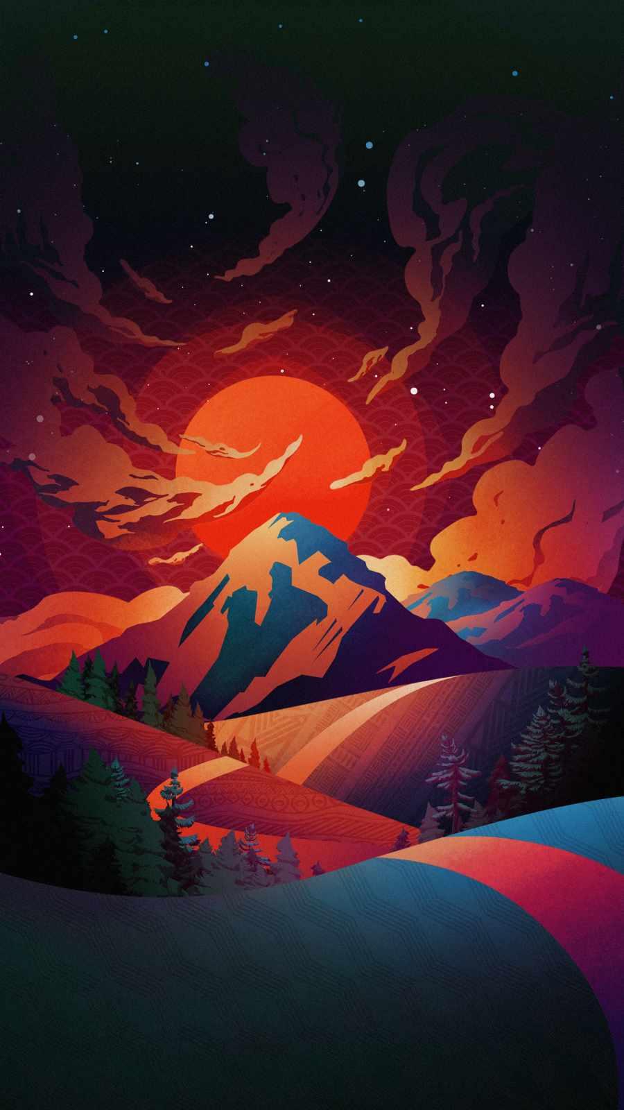 Natureland iPhone Wallpaper