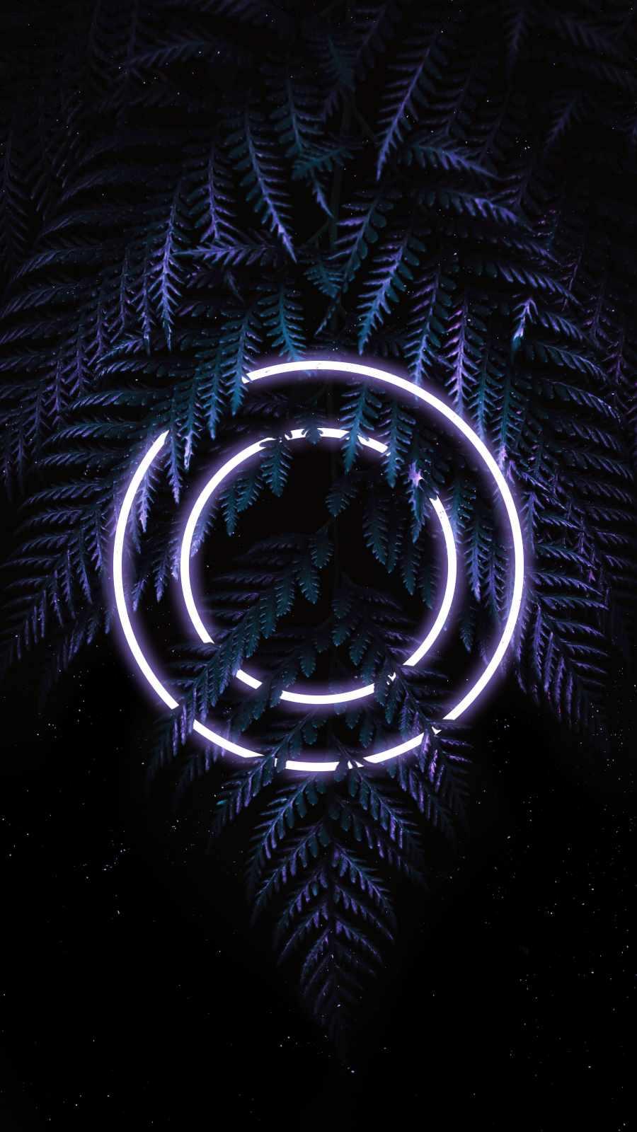 Neon Circle Nature