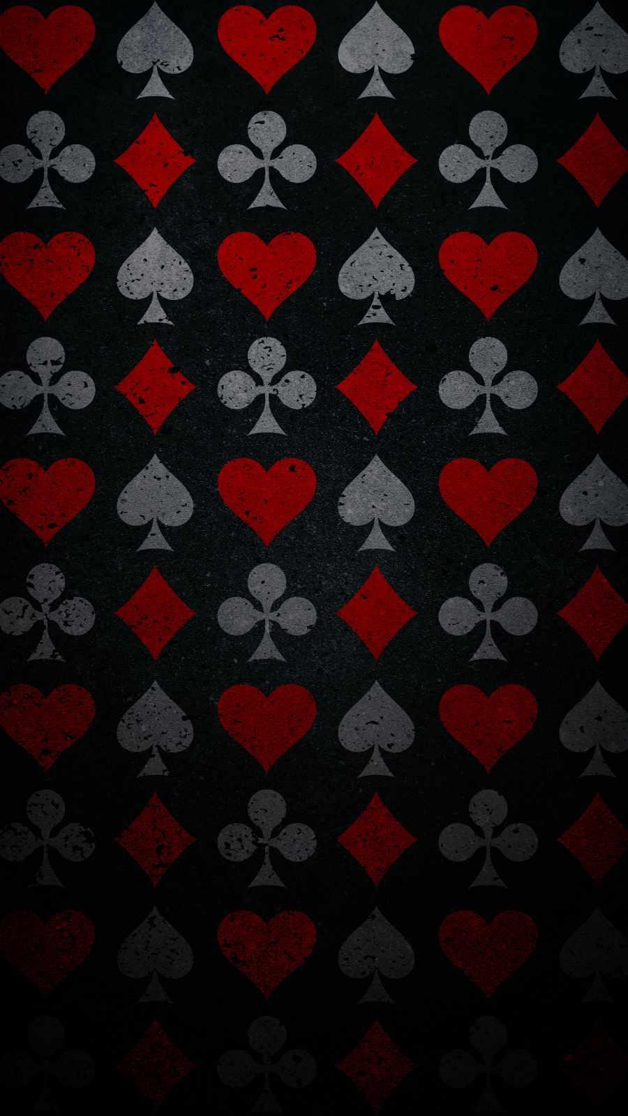 Poker Card Pattern