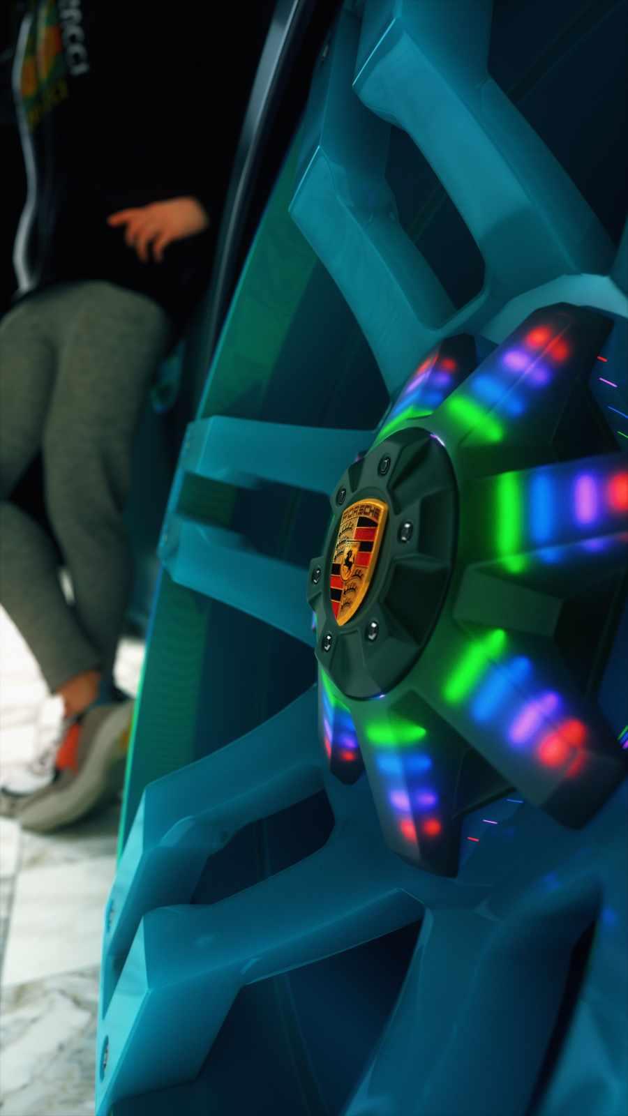 Porsche Alloy Wheel