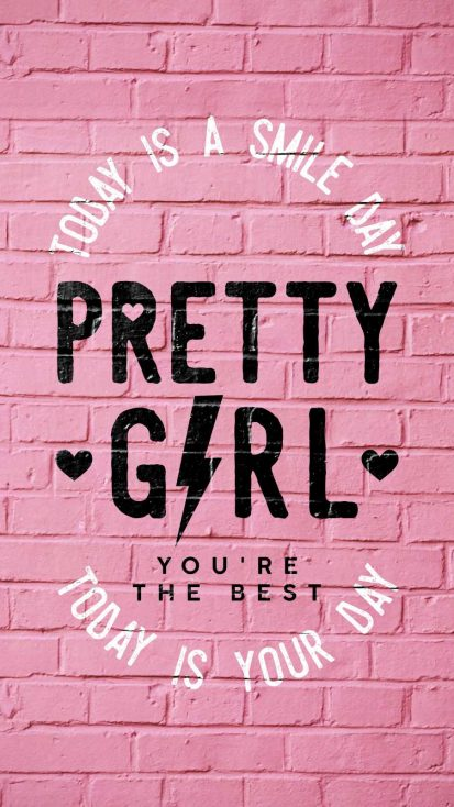 Pretty Girl iPhone Wallpaper